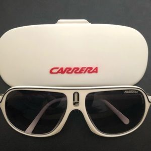 Carrera Sunglasses Safari/R White/Black Polarized